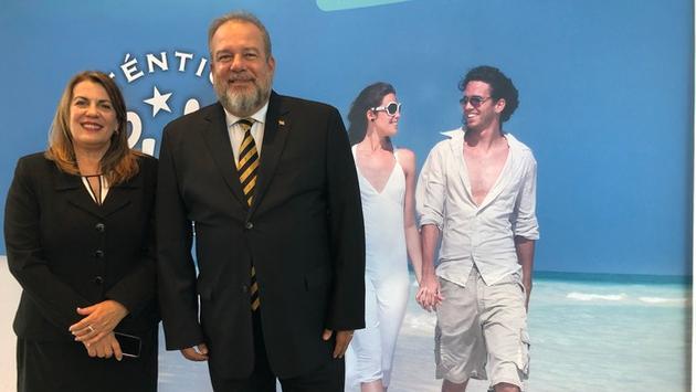 Le ministre du Tourisme de Cuba en visite à Montréal