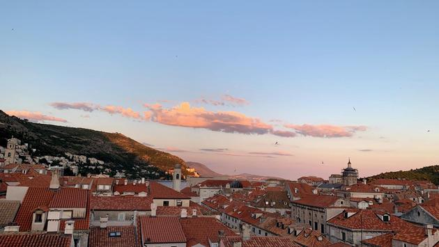 View of Dubrovnik, Croatia from Above 5 rooftop restaurant