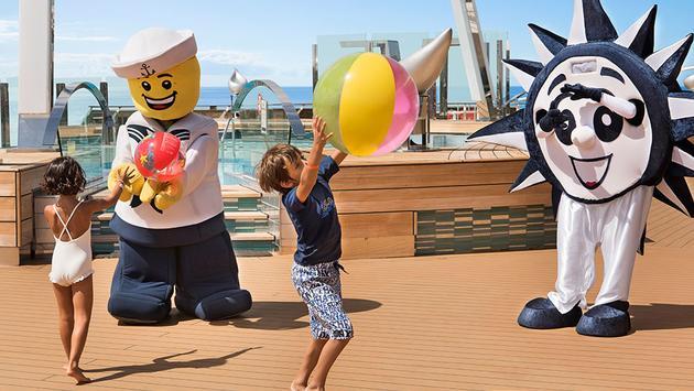 LEGO kid fun onboard MSC Cruises