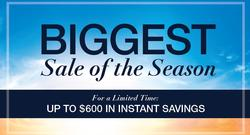 For a Limited Time: Up to $600 in Instant Savings + Additional Savings of up to 62% off