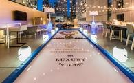 Curling rink at The Gwen, a Luxury Collection Hotel in Chicago