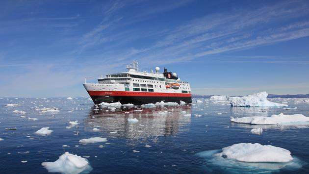 MS Fram, Hurtigruten