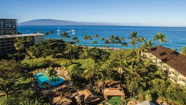 Receive Daily Breakfast in Maui at Ka anapali Beach Hotel