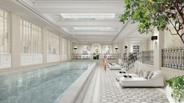 The new Le Spa at Four Seasons Hotel George V, Paris