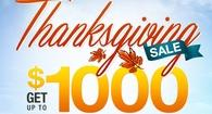 Thanksgiving Sale comes with Amazing Savings & a Gift!