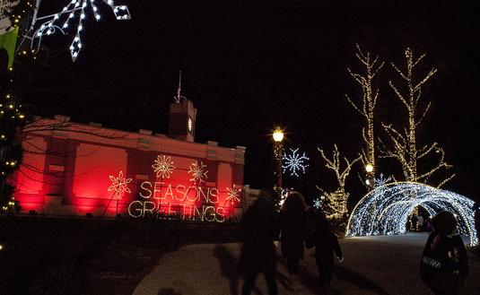 Holiday season in Hershey, PA