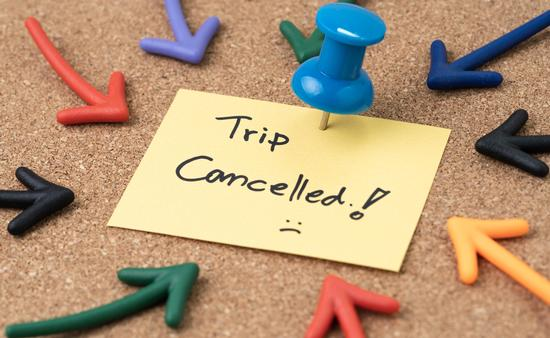 Vacations cancelled due to COVID-19.