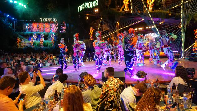 Tropicana show in Havana Cuba
