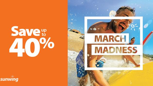 Sunwing's March Madness Sale