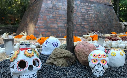 'Calaveras' displayed on the Day of the Dead.