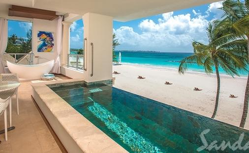 Up to $1000 Instant Credit in Barbados: Beachfront Prime Minister 1 Bdrm Butler Suite