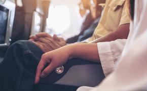 Airplane arm rest