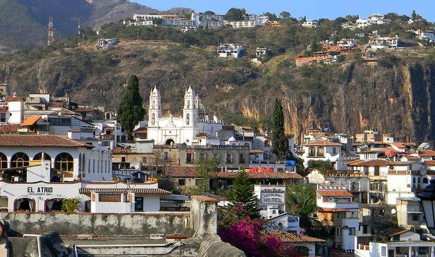 El Pueblo Mágico de Taxco, Guerrero.