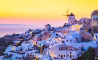 Mykonos in the Greek Islands.
