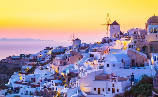 Mykonos in the Greek Islands.