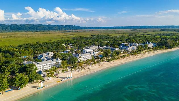 L'hôtel Riu Palace Tropical Bay à Negril.