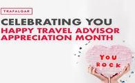 Celebrate Travel Advisor Appreciation Month with Trafalgar!
