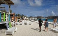 Orient Beach in St. Martin