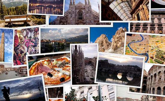 Travel Collage - Italy (Photo via dankadanka / iStock / Getty Images Plus)