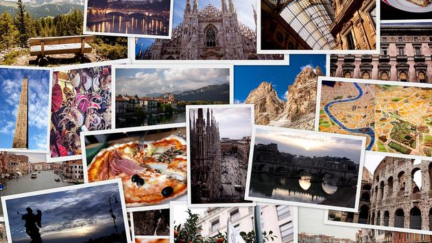 Travel Collage - Italy (Photo via dankadanka / iStock / Getty Images Plus)
