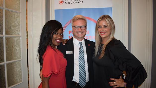 Lancement collection Soleil de Vacances Air Canada