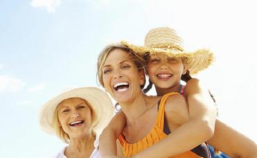 Seniors, grandparent, multi-generational travel