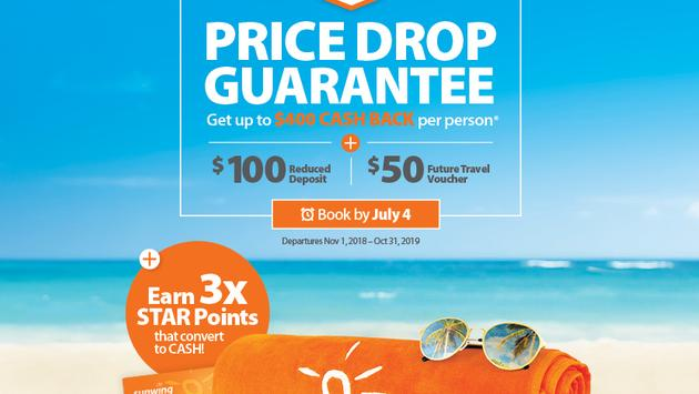 Sunwing Price Drop Guarantee