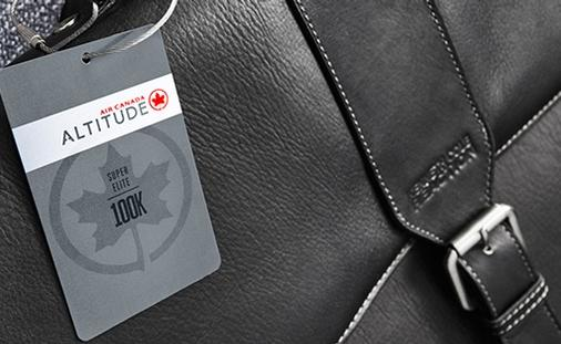 Upgrade the way you fly with Altitude, Air Canada's frequent flyer program.