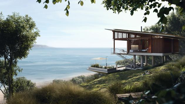 View from one of the standard guest villas at Six Senses Papagayo.