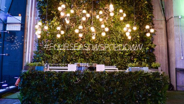 Four Seasons Hotels and Resorts pop down event