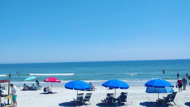 The beach at Hilton Head Island, South Carolina