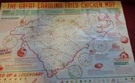 Carolina Fried Chicken Map