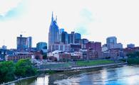 Nashville, skyline, city buildings