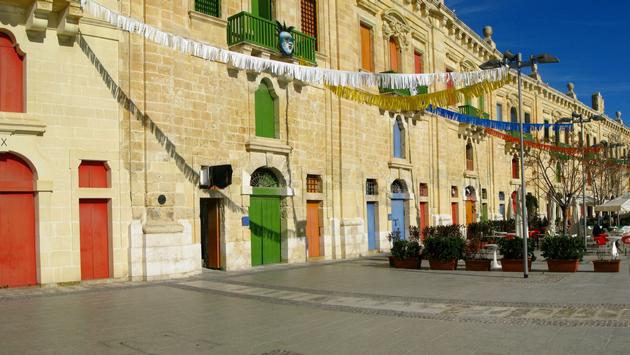 Valletta, the capital of Malta, is designated as a Culture Capital of Europe for 2018