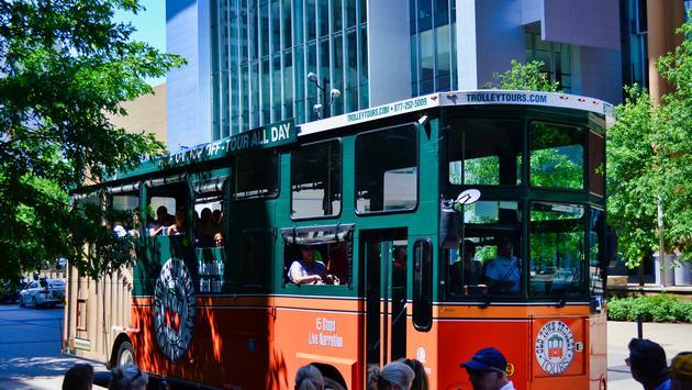 FOTO: El Trolley del viejo Nashville. (Foto de Emily Krause)