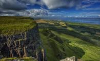 Binevenagh, Northern Ireland, which doubled as the Dothraki Grasslands in