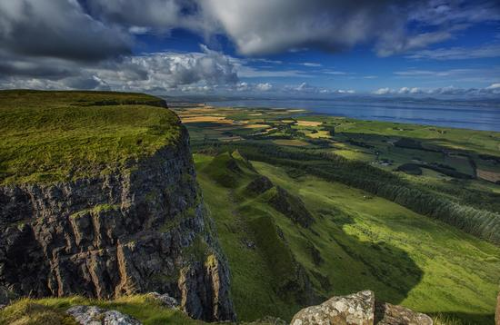 Binevenagh, Northern Ireland, which doubled as the Dothraki Grasslands in 'Game of Thrones'.