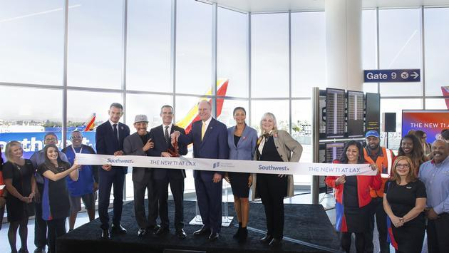 New Southwest Terminal 1 at LAX