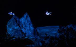X-wing Starfighters Soar Above Star Wars: Galaxy's Edge at Disney's Hollywood Studios