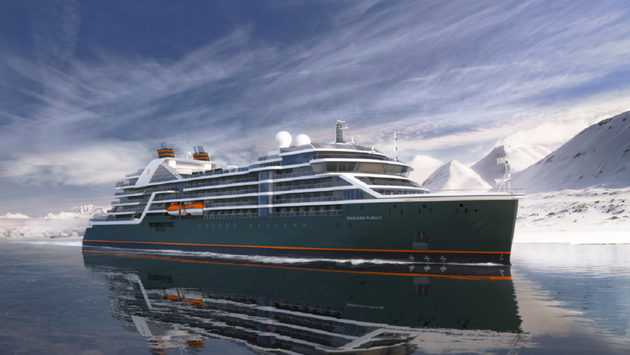 Seabourn's second expedition ship