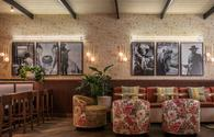 Decor inside Houston's C. Baldwin Hotel