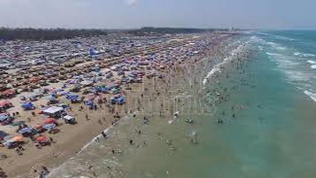 Playa Miramar en Tamaulipas. (Foto de la Secretaría de Turismo de Tamaulipas)