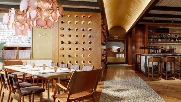 Rosalie's Italian Soul, signature restaurant inside C. Baldwin hotel in Houston, Texas
