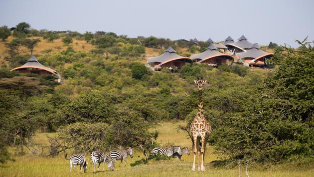 Mahali Mzuri luxury safari camp in Kenya