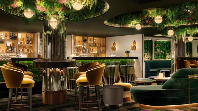 MSC Seashore's Chef's Court Cocktail Bar.