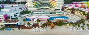 FOTO: Una foto aérea de Temptation Cancún Resort. (Foto de Temptation Cancún Resort)