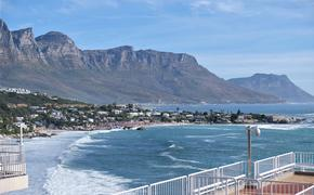 A Cape Town beach area