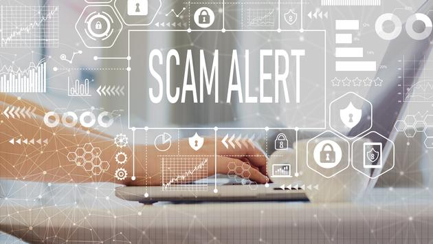 Be on the lookout for cyber-attacks and phishing scams.
