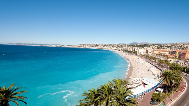 Nice et la promenade des Anglais