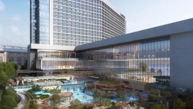 Rendering of the Loews Arlington Hotel and Convention Center.